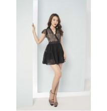 Váy Ren Cổ V Cánh Tiên GV261 - Genni